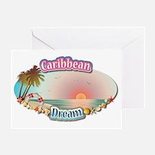 Caribbean Greeting Card