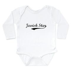 Jewish Star Long Sleeve Infant Bodysuit