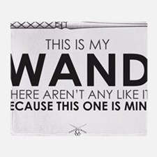 This is my Wand Throw Blanket