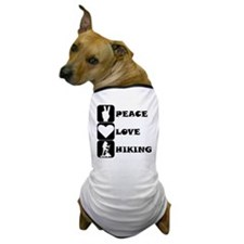 Peace Love Hiking Dog T-Shirt