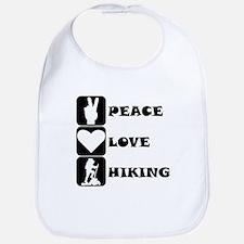 Peace Love Hiking Bib