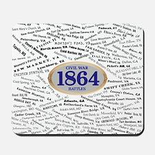 Battles - 1864 Mousepad