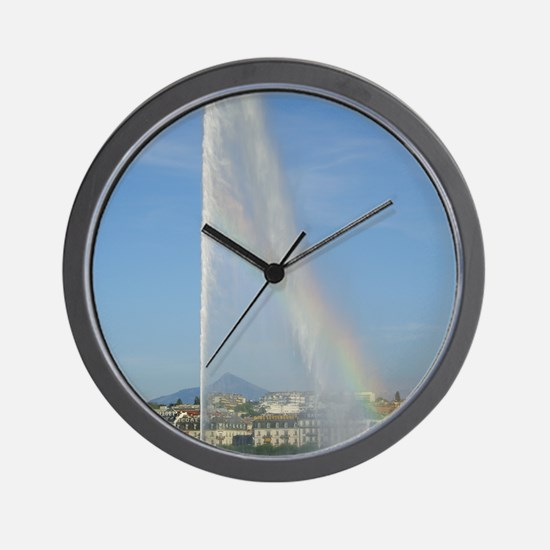 Jet deau Lake Geneva Wall Clock