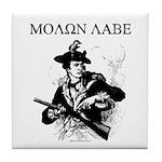 Molon Labe Minuteman Tile Coaster