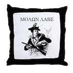 Molon Labe Minuteman Throw Pillow