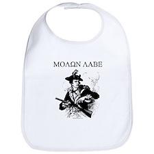 Molon Labe Minuteman Bib