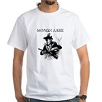 Molon Labe Minuteman White T-Shirt