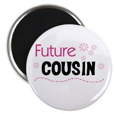 Future Cousin (pink) Magnet
