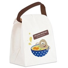 The cutest matzo ball-my first pa Canvas Lunch Bag