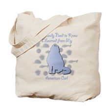 Learned Curl Tote Bag