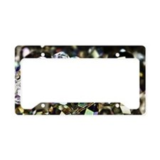 sparklebeads License Plate Holder