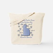 Learned Shorthair Tote Bag