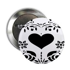 """Open your heart 2.25"""" Button"""