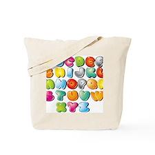 A B C D Tote Bag