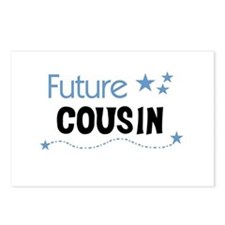 Future Cousin (blue) Postcards (Package of 8)