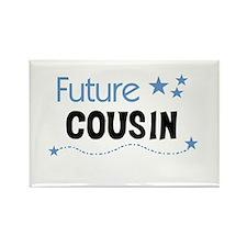 Future Cousin (blue) Rectangle Magnet