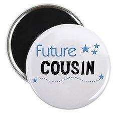 Future Cousin (blue) Magnet