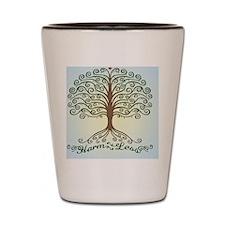 harm-less-tree-BUT Shot Glass