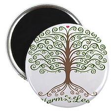 harm-less-tree-T Magnet
