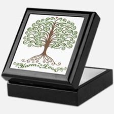 harm-less-tree-T Keepsake Box