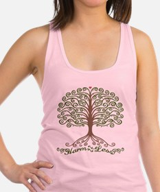 harm-less-tree-T Racerback Tank Top