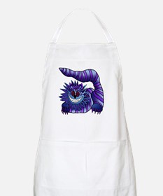 Mad Cheshire Cat Outline BBQ Apron