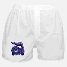 Mad Cheshire Cat Outline Boxer Shorts