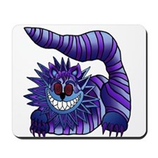 Mad Cheshire Cat Outline Mousepad