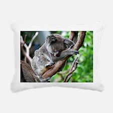 Koala sleeping HIRES Rectangular Canvas Pillow