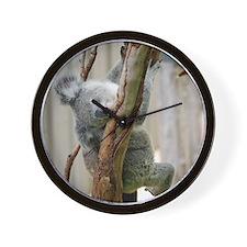 Koala6 HIRES Wall Clock