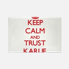 Keep Calm and TRUST Karlie Magnets