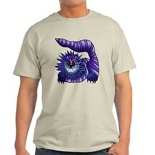 Mad Cheshire Cat Outline T-Shirt
