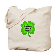 Grandpa is My Lucky Charm Tote Bag