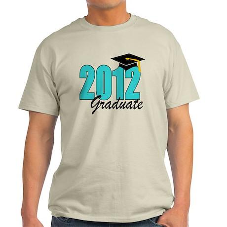 2012 graduate aqua Light T-Shirt