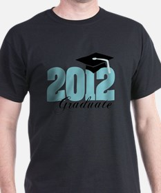 2012 graduate color aqua T-Shirt