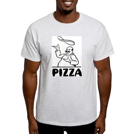 Retro Pizza Light T-Shirt