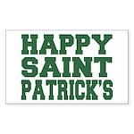 St. Patrick's Day Rectangle Sticker