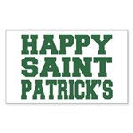 St. Patrick's Day Rectangle Sticker