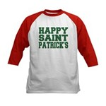 St. Patrick's Day Kids Baseball Jersey
