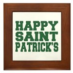 St. Patrick's Day Framed Tile