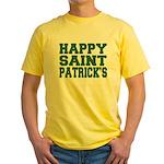 St. Patrick's Day Yellow T-Shirt