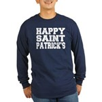 St. Patrick's Day Long Sleeve Dark T-Shirt