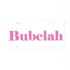bubelah.png Aluminum License Plate