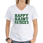 St. Patrick's Day Women's V-Neck T-Shirt