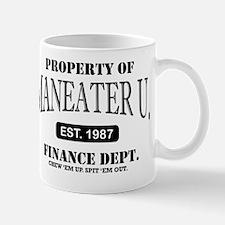 Maneater University Finance Department Mug