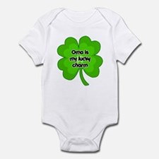 Oma is My Lucky Charm Onesie