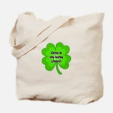 Oma is My Lucky Charm Tote Bag
