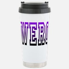 werq Stainless Steel Travel Mug