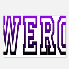 werq Postcards (Package of 8)