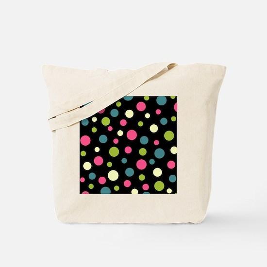 Twin Polka BlaPink Tote Bag